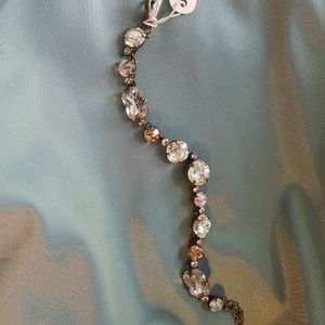 Sorrelli Bracelet NWT Champagne & Clear